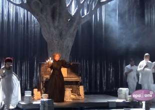 """Video: Rīgas Krievu teātris sezonu sāk ar Raini. Top ''Mīlas svētība"""""""