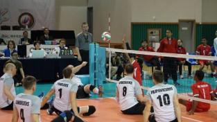 Latvijas sēdvolejbola izlase apstājas PČ kvalifikācijas turnīra pusfinālā