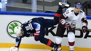 Latvija izcīna punktu, bet papildlaikā piedzīvo sāpīgu neveiksmi pret ASV