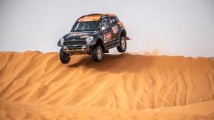Dakaras rallija 9. posmā augsts sasniegums vienīgajam Latvijas pārstāvim