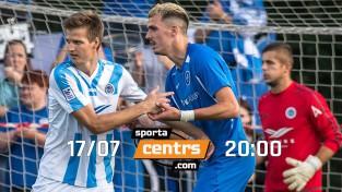 Futbols, kāds šogad Latvijā vēl nav redzēts: Rīgas derbijs Sportacentrs.com TV