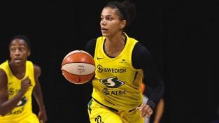 """Fantastiskais piecinieks un 33 piespēles nogādā """"Storm"""" soļa attālumā no WNBA titula"""