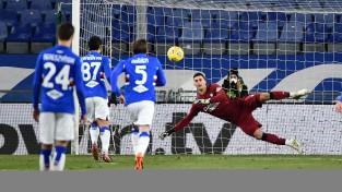 """""""Sampdoria"""" atspēlējas un pieveic """"Udinese"""", Turīna turpina grimt"""