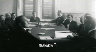 """Apgāds """"Mansards"""" izdod Aivara Strangas grāmatu  """"Latvijas un Padomju Krievijas miera līgums 1920. gada 11. augustā"""""""