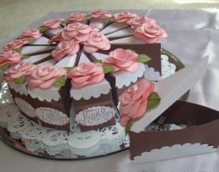 Radoša ideja: Papīra torte gardumu iesaiņošanai