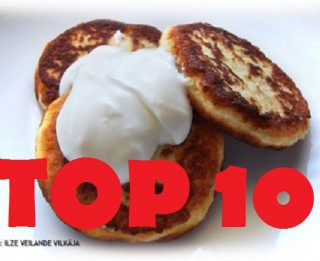 2014.gada populārākās receptes. TOP10