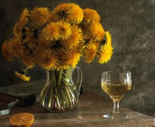 Kā pagatavot pieneņu vīnu