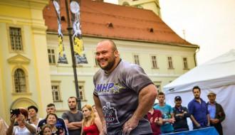 Foto: Zāģeris uzvar Spēkavīru čempionu līgas posmā Rumānijā