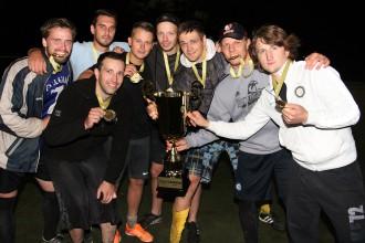 """Mārupes """"Ghetto Games"""" sezonas noslēgumā triumfē  """"Jaunmārupes dūžu"""" futbolisti"""