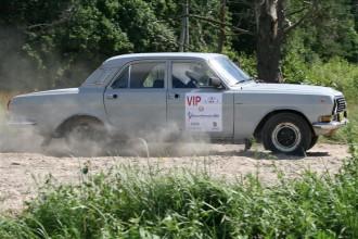 """Vēsturisko automašīnu regularitātes rallijā startēs """"Volga"""", """"Žiguļi"""" un """"Vabole"""""""