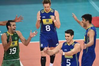 Brazīlieši trijos setos uzvar Krieviju un nodrošina vietu PČ pusfinālā
