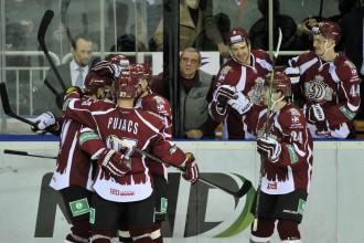"""""""Dinamo"""" pirmoreiz šosezon uzvar divās spēlēs pēc kārtas"""
