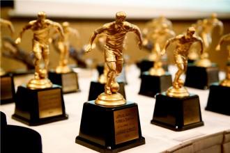 Apbalvoti 2014. gada LMT Futbola akadēmijas izcilnieki un Latvijas jaunatnes futbola čempionāta laureāti