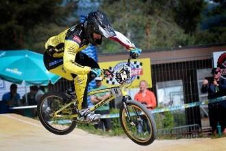 Krīgers no junioru vecuma atvadās ar uzvaru BMX sacensībās Francijā
