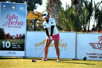 Golfere Jansone nodrošina vietu Eiropas profesionāļu tūrē arī nākamgad