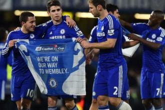 """""""Chelsea"""" 120 minūšu <i>trillerī</i> uzvar """"Liverpool"""", iekļūstot kausa finālā"""