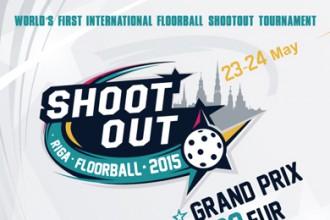 "Latvijā notiks florbola soda metienu turnīrs ""Riga Floorball Shootout 2015"""