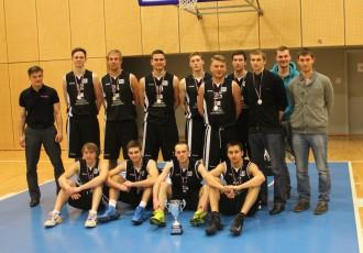 "Foto: Kronēti Studentu Basketola līgas čempioni - BA ""Turība"""