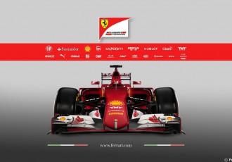 """Foto: """"Ferrari"""" prezentē Fetela nākamo sacīkšu auto SF15-T"""