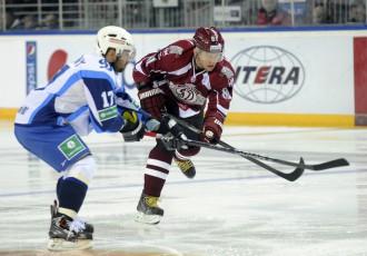 Video: KHL sestās nedēļas labākajos vārtu guvumos arī Hosa