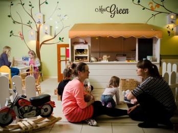Foto: Ekoloģiskā uztura restorāns Mini Green- vieta, kur mīl bērnus