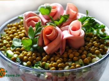 Kārtainie salāti ROZES