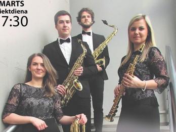 Dekoratīvās mākslas un dizaina muzejā norisināsies JVLMA saksofonu kvarteta koncerts