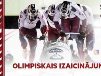 Video: Olimpiskais reportieris noslēdz izaicinājumu sēriju pie boba stūres