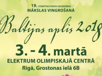 """Klāt sporta un mākslas svētki – sacensības """"Baltijas aplis"""""""