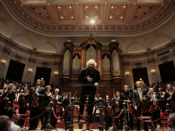 Amsterdamas Karaliskais Concertgebouw orķestris atklās koncertu kopā ar sudentu orķestri