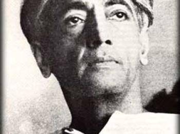 Džidhu Krišnamurti - indiešu izredzētais