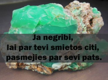 3.februāra dienas akmens- HRIZOPRAZS