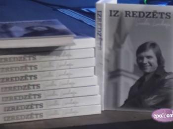 """Video: Izdota grāmata """"Izredzēts"""" un albums """"Leģendas. Viktors Lapčenoks"""""""