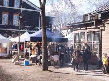 Tuvo austrumu ēdienu gatavošanas meistardarbnīca Kalnciema kvartāla tirgū
