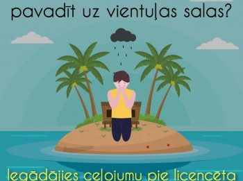 PTAC brīdina: Iegādājies ceļojumu tikai pie licencētiem un reģistrētiem  tūrisma pakalpojumu sniedzējiem