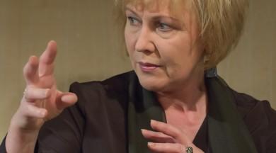 """""""Sarunas Smiļģa kabinetā""""ar  Latvijas Nacionālā teātra aktrisi Lāsmu Kugrēnu"""