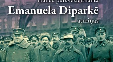 """""""Mansards"""" izdevis grāmatu  """"Franču pulkvežleitnanta Emanuela Diparkē atmiņas.  Misija Latvijā 1919–1920"""""""