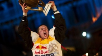 """Nīfnekers – """"Red Bull Crashed Ice"""" čempions"""
