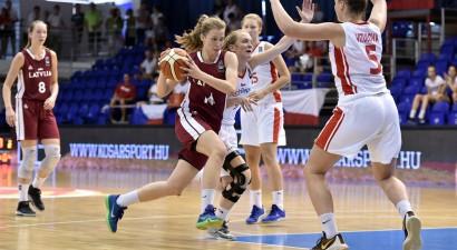 U18 meiteņu aizsardzība piespiež kapitulēt Čehiju