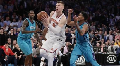 """""""Knicks"""" viesosies Šarlotā, Sanantonio uzņems """"Clippers"""""""
