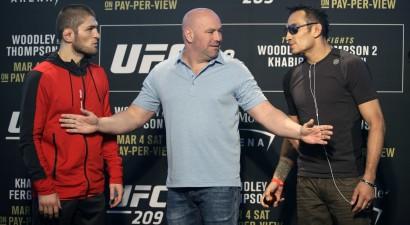 Ilgi gaidītā Fergusona un Nurmagomedova divkauja notiks UFC 223 šovā