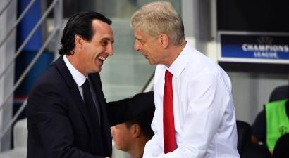 """Vengeru """"Arsenal"""" galvenā trenera krēslā, visticamāk, aizstās no PSG atlaistais Emerijs"""