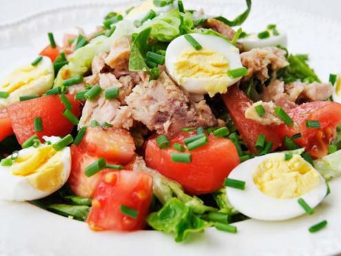 2 gardi sāļie zivju salāti