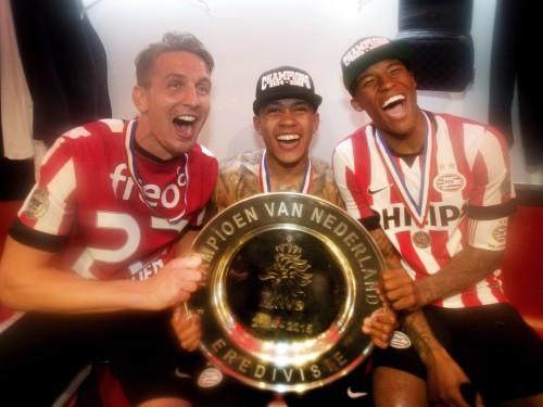 """""""Olympiakos"""" 17. tituls pēdējo 19 gadu laikā, Nīderlandē triumfē PSV"""