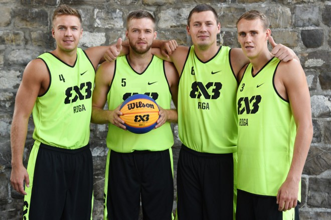 """Rīga Ghetto Basket"" 3x3 basketbolisti Pasaules tūrē debitē ar divām uzvarām"
