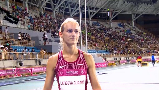 Latiševa-Čudare ievēlēta Eiropas Olimpiskās komitejas atlētu komisijā