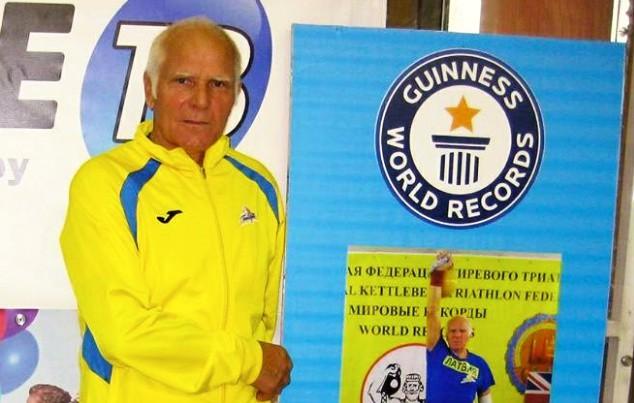 Smagatlēts Trusevičs sasniedz Ginesa rekordu