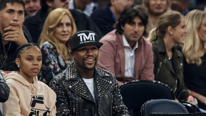 Meivezers izaicina Braientu uz basketbola spēli par vienu miljonu dolāru