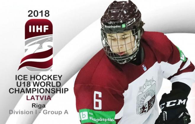 Sākusies biļešu tirdzniecība uz U18 pasaules hokeja čempionātu Rīgā
