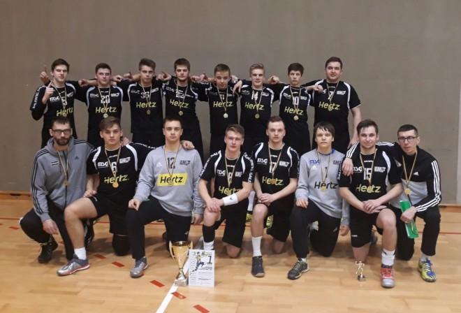 MSĢ/LAT-Hertz handbolisti triumfē turnīrā Lietuvā